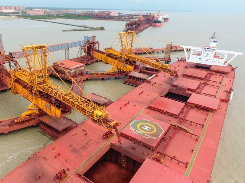 Brasil: Terminal Marítima de Ponta da Madeira movilizó 191,2 millones de toneladas en 2020