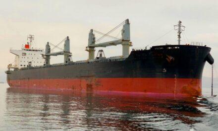 Tarifas de carga granelera WCSA al Lejano Oriente se fija en US$14.000 para buques Handysize