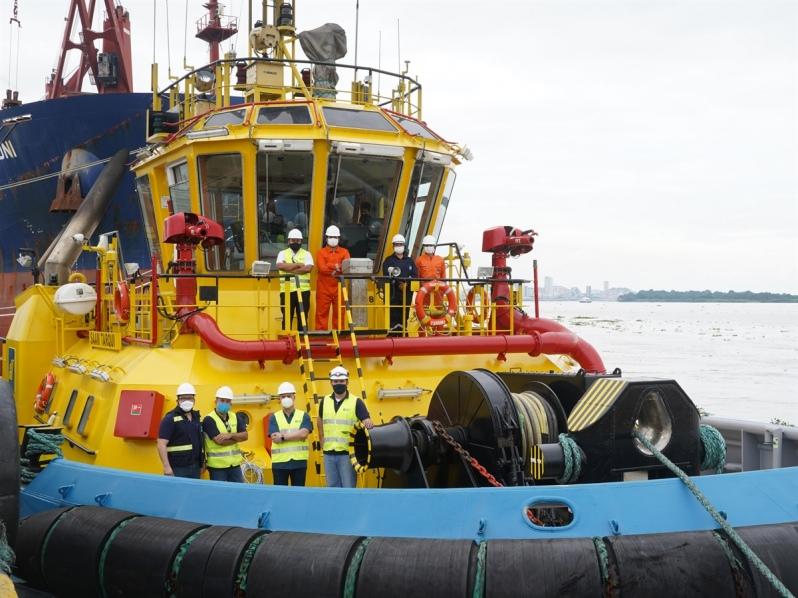 SAAM recibirá dos nuevos remolcadores para sus operaciones en Ecuador