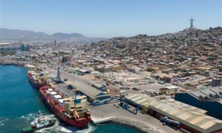 Puertos región de Coquimbo, Chile: Carga exportada creció un 9,6% entre enero y noviembre de 2020