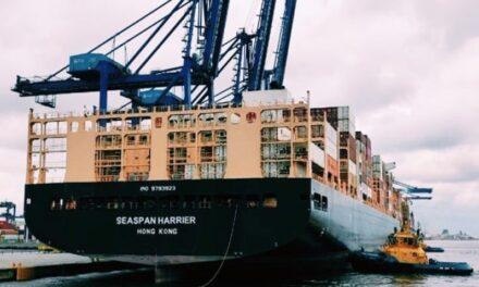 TCP en Brasil recibe al primer buque con nuevo calado operacional de 12,10 mts de profundidad