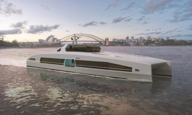 Austal Australia presenta la serie VOLTA de ferris eléctricos de alta velocidad