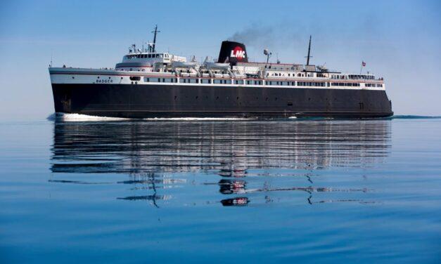 El histórico SS Badger  vive para navegar otro día