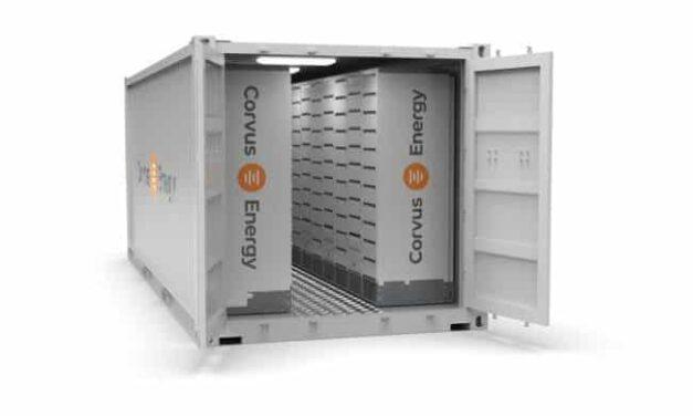 Corvus Energy presenta soluciones de sala de baterías en contenedores de marca estandarizada ISO