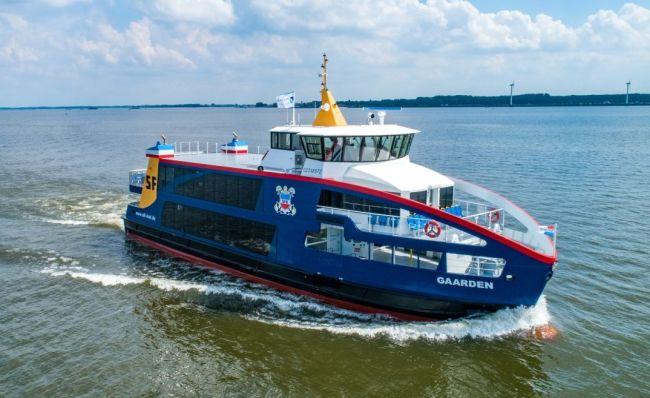 Los astilleros holandeses construirán tres Ferries híbridos adicionales para SFK