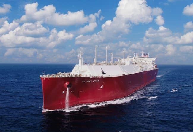 Nakilat se encarga de la entrega y la gestión del LNGC 'Global Star' construido por DSME