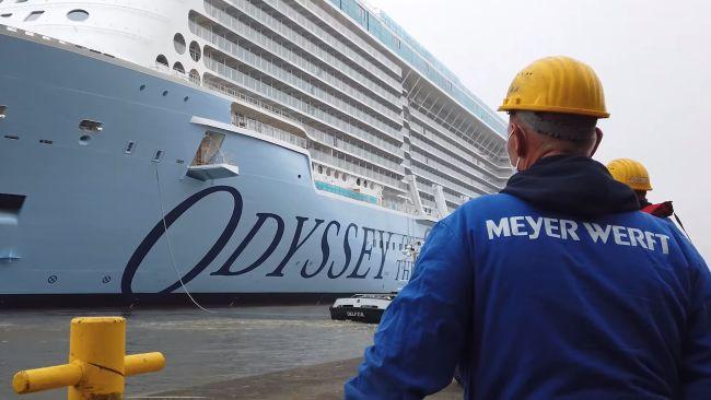 Crisis del COVID: Debido a la reducción del 40% de la producción de trabajo, 1800 puestos de trabajo estarían en juego en Meyer Werft