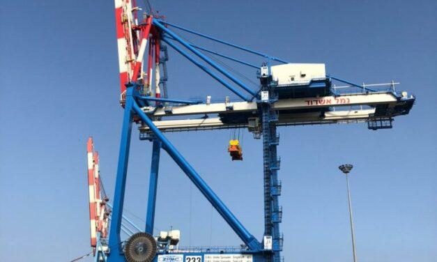 El puerto de Ashdod ordena grúas STS