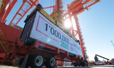México: Contecon Manzanillo alcanza un millón de contenedores en 2020