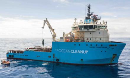 Maersk, «The Ocean Cleanup» extiende la asociación por tres años más