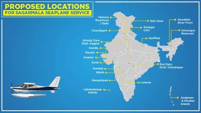India lanza un ambicioso proyecto de servicios de hidroaviones para facilitar un viaje más rápido y sin complicaciones