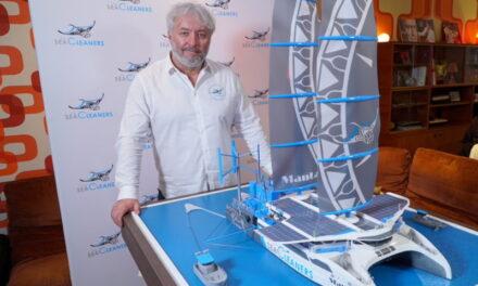 Este velero se alimenta del plástico del océano
