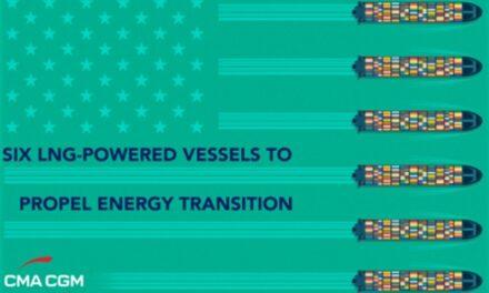 CMA CGM destinará seis nuevos buques propulsados por GNL a sus clientes de EE.UU.