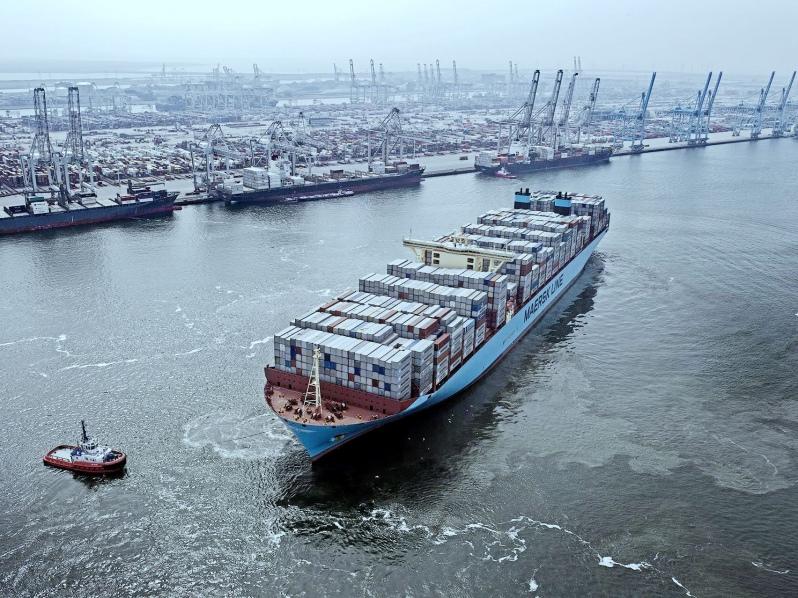 Maersk operará el primer portacontenedor carbono neutral del mundo para 2023