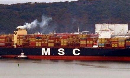 MSC confirma pérdida de contenedores vacíos en la ruta Transpacífico a causa del mal tiempo