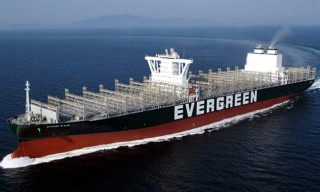 Evergreen suma a su flota portacontenedor de más de 11.800 TEUs