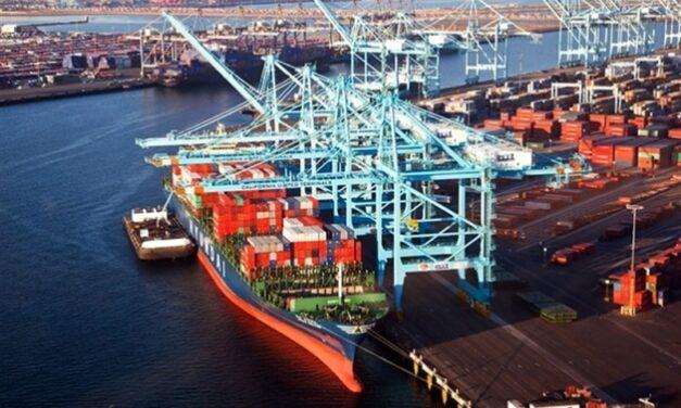 Puertos de contenedores de la Costa Oeste de EE.UU. aumentaron un 8,5% TEUs entrantes