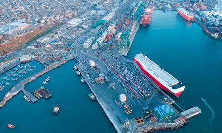 Puerto de San Antonio, Chile: Descarga de vehículos nuevos creció un 23% durante enero
