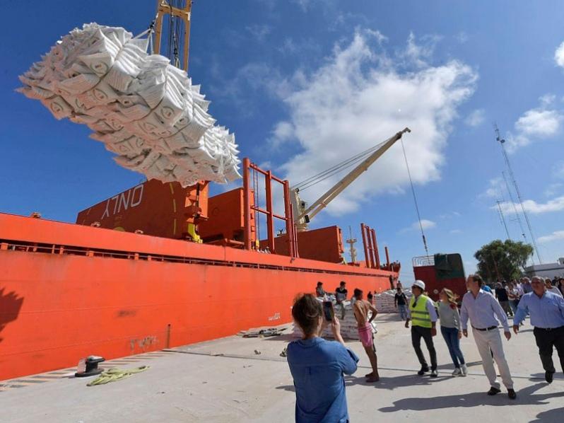 Puerto Ibicuy, Argentina: Terminales alcanzaron las 200 mil toneladas embarcadas en 2020