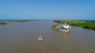 Colombia: Dimar anuncia mejoras en condiciones para navegación en canal de acceso al Puerto de Barranquilla