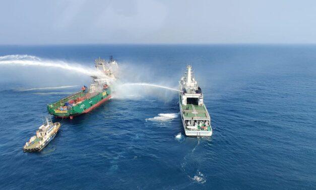 India: Incendio en buque de suministro de plataforma deja un saldo de tres muertos en territorio de ultramar