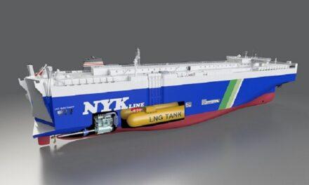 NYK firma un contrato de construcción de cuatro buques de transporte de gas natural licuado