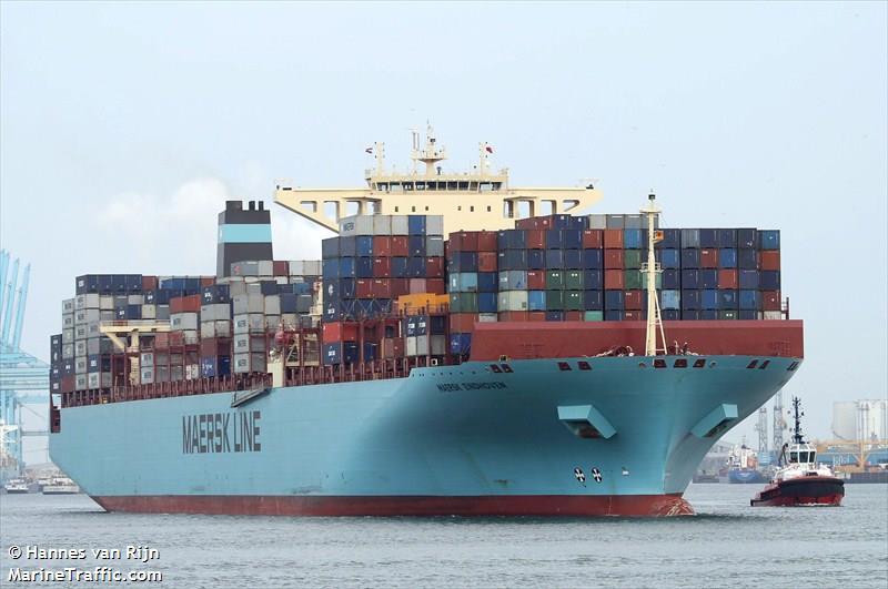 Pérdida de carga en el Maersk Eindhoven: la presión del aceite del motor provocó la pérdida de propulsión