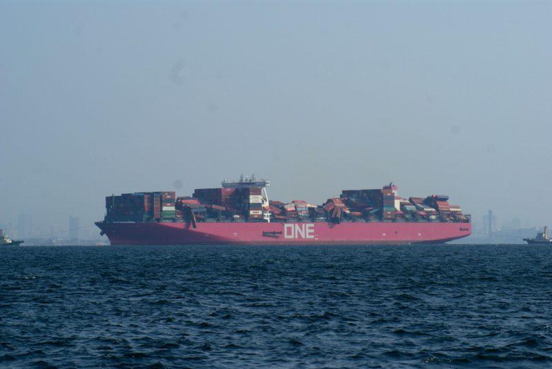 La empresa japonesa Ocean Network Express prevé el regreso de ONE Apus a mediados de marzo
