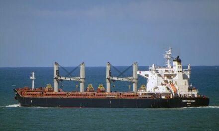 El buque granelero «EAGLE» escapa al ataque de los piratas en el Golfo de Guinea
