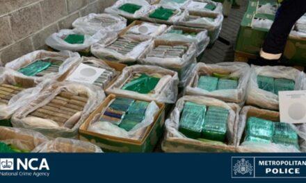 El Reino Unido celebra la mayor redada de drogas al encontrar cocaína por valor de 250 millones de dólares en un cargamento de plátanos procedente de Colombia