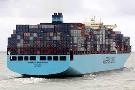 Oceano pacifico: Buque de la Maersk pierde 260 contenedores por la borda después de una falla en la máquina principal