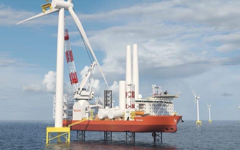 El grupo Scorpio Bulkers debuta en el sector de las energías renovables en alta mar con un nuevo nombre