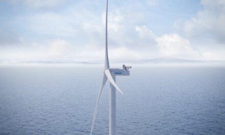 Vestas presenta un nuevo aerogenerador marino de 15 MW tan alto como el puente «Golden Gate»