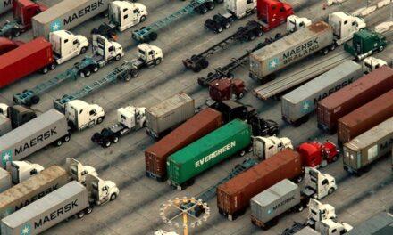El colapso total de la cadena logística de importación en EE.UU.