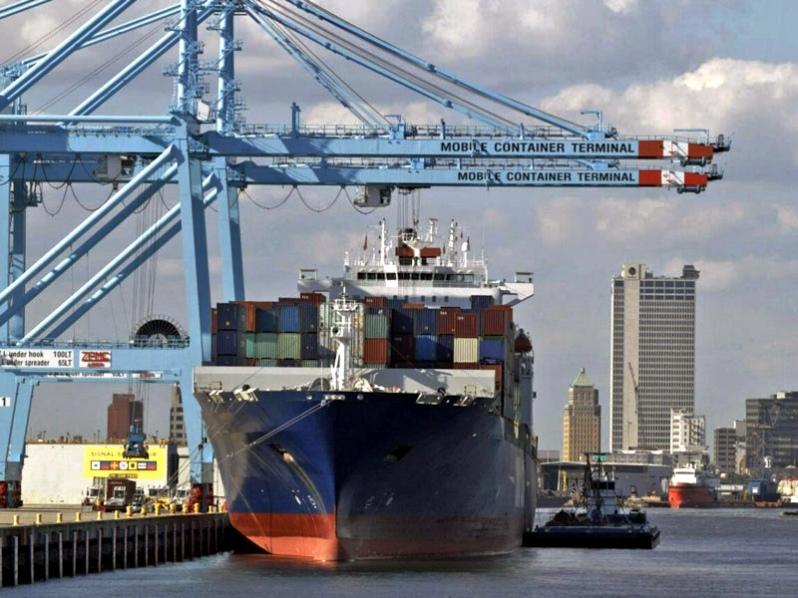 Puerto de Mobile en EE.UU. se posiciona como alternativa a los terminales de las costas este y oeste