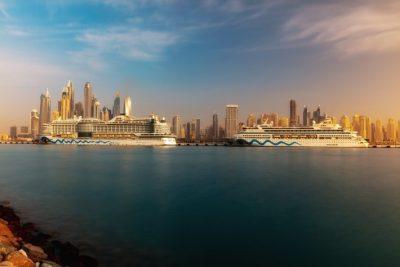 AIDA Cruises hace su estreno en la flamante terminal de cruceros de Dubai