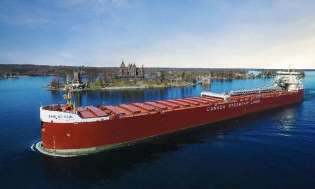 St. Lawrence Seaway abre para la TEMPORAD naviera  DEL 2021
