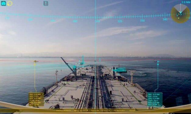 MOL mejora la función del sistema de navegación AR para apoyar la navegación de embarcaciones