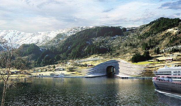 Noruega:  El primer túnel de barcos del mundo estará listo para 2025