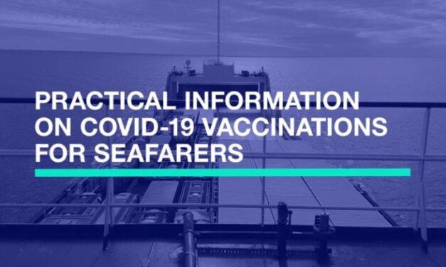 ICS lanza una guia de vacunas covid-19 para garantizar la seguridad de la gente de mar