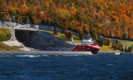 Fotos: Noruega construye el primer túnel de barcos del mundo en el Stadhavet