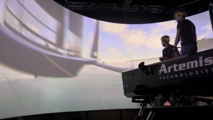 Vídeo: Se presenta el simulador marino más avanzado del mundo con capacidad dual digital