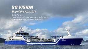 Fotos:  Barco de pesca híbrido gana el premio al barco del año en Noruega
