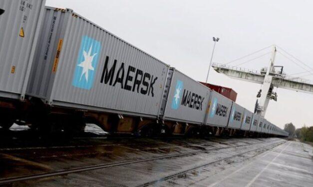 A.P. Moller- Maersk será el primer tren en bloque de la historia desde Japón al Reino Unido