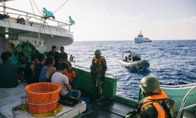 Programa de detección de embarcaciones oscuras de la MDA para contrarrestar la pesca ilegal y utilizar el AIS avanzado de exactEarth