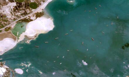 Incidente en el Canal de Suez: La capacidad de los buques varados aumenta un 42,5% en menos de 24 horas