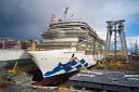 Fotos: Fincantieri pone a flote el sexto barco de la clase Royal construido para Princess Cruises