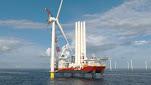 Kongsberg equipará el primer buque de instalación de aerogeneradores construido en Estados Unidos