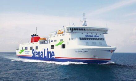 Stena Line da la bienvenida a la flota del Mar Báltico al buque Visentini RoPax, de 186 m de eslora