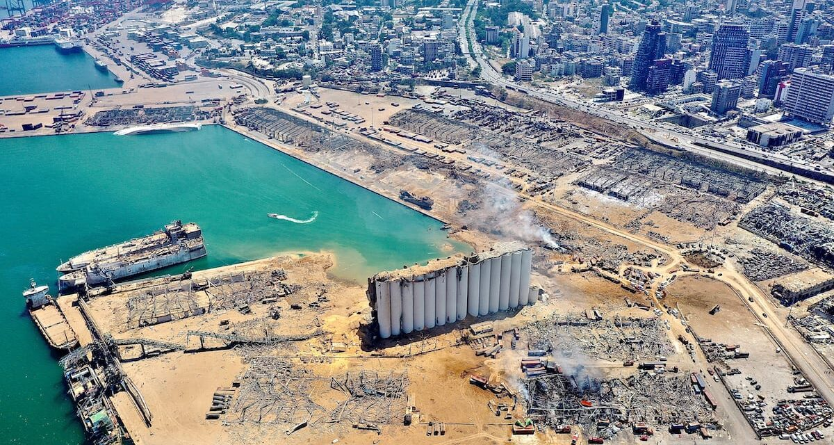 Alemania propone reconstruir el puerto de Beirut tras la explosión química